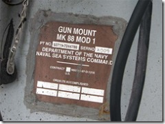 Mk.88 mod.1 銃架