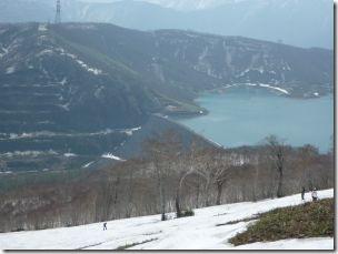 カッサダムと田代湖